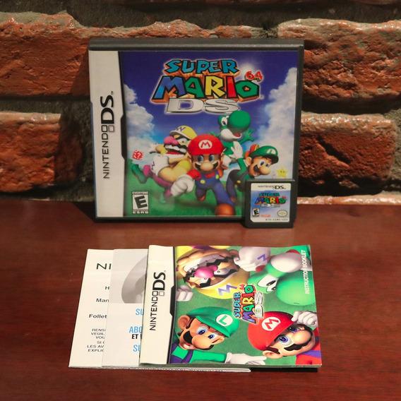 Super Mario 64 Ds Black Label Original Usa Completo Nintendo