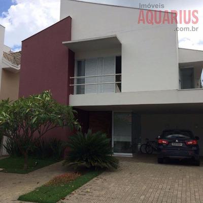 Belíssimo Sobrado No Condomínio Altos Da Serra Ii, Urbanova! - So0058