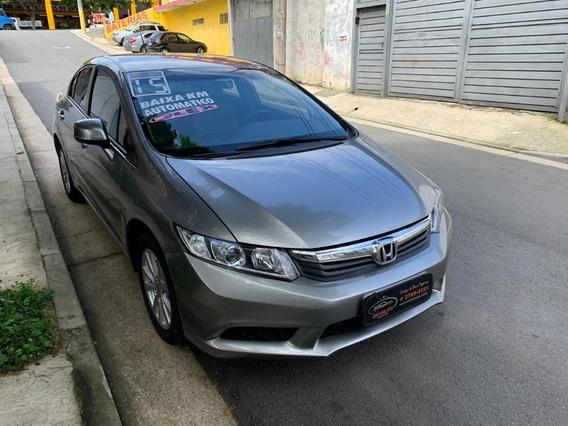 Honda Civic Lxs 1.8 Único Dono Completo 2015 Baixo Km