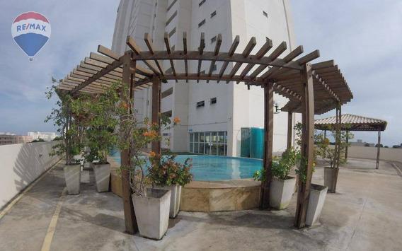 Apartamento Vista Mar No Centro No Edificio Cidade - Ap0296