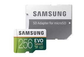 Cartao De Memoria Samsung Evo Plus 100mb/s 256gb Filma 4k