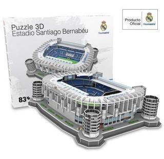Réplica Estádio Do Real Madri Santiago Bernabeu Para Montar