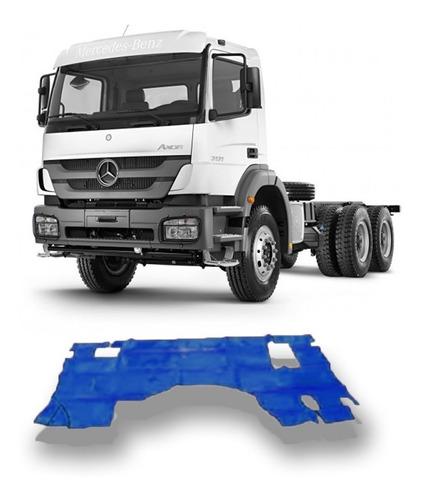 Tapete Verniz Caminhão Mb Axor 2831 2010 Em Diante C/ Capo