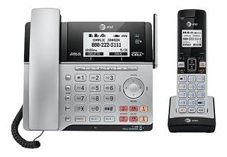 Set De Teléfonos Inalámbricos At&t 86203 2 Lineas