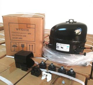 Compresor 1/6 Hp 110v Nuevo Nevera Congelador Enfriador
