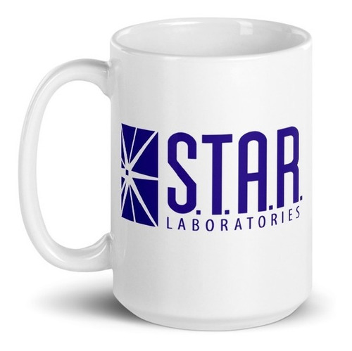 Imagen 1 de 3 de Taza 15oz Laboratorios Star - The Flash