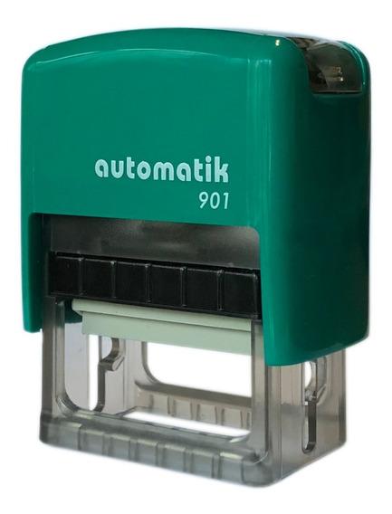 Sellos Automaticos + Goma Sellos Insumos Laserables Combo