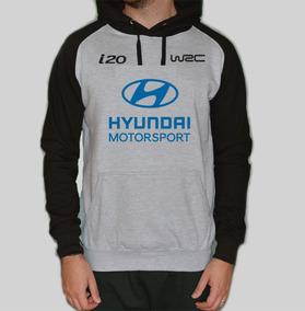 Blusa Moletom Canguru Hyundai Motorsport I20 Rally Corrida