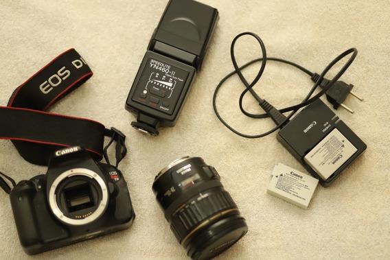Canon Eos T3i Kit Lente 28-105mm