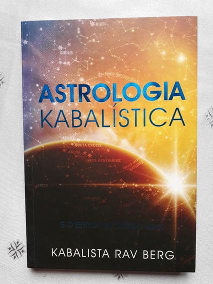 Livro - Astrologia Kabalística - Kabalista Rav Berg