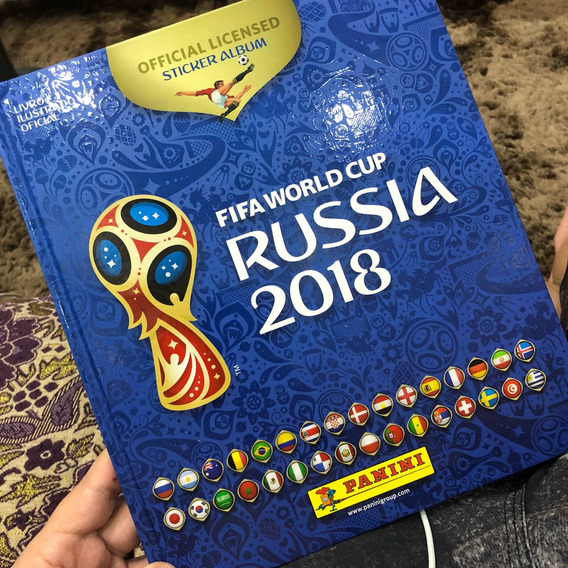 Albúm Da Copa Do Mundo 2018 Completo (capa Dura)