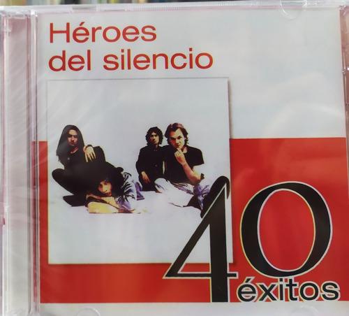 Héroes Del Silencio - 40 Éxitos 2 Cds Nuevos Originales