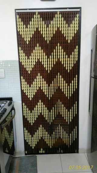 Cortina Plástica De Porta Zig Zag 0,82 X 2,10m