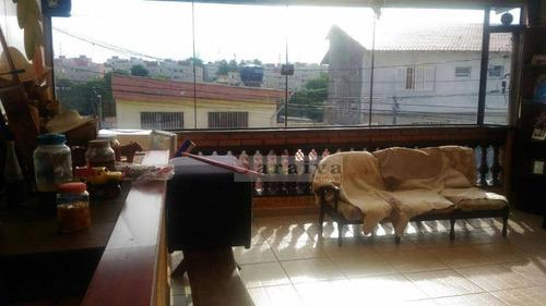 Sobrado Com 3 Dormitórios À Venda Por R$ 455.800,00 - Jardim Do Estádio - Santo André/sp - So0213