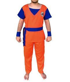 Cosplay Goku - Dragon Ball Z- Fantasia - Adulto E Infantil