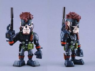 Medicom Metal Gear Solid Muñeca Coleccionista De Vinilos Ser