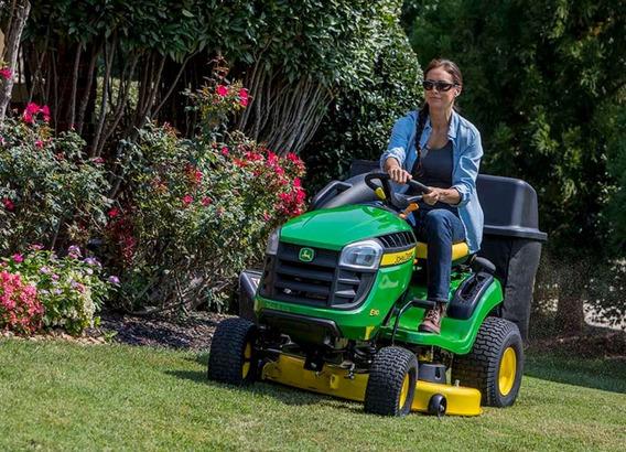 Tractor De Jardin John Deere E110