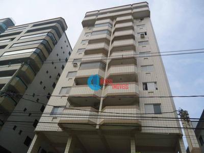 Apartamento Com 1 Dormitório Ampla Sala Em L Com Lazer Perto Da Praia - Guilhermina - Ap1013