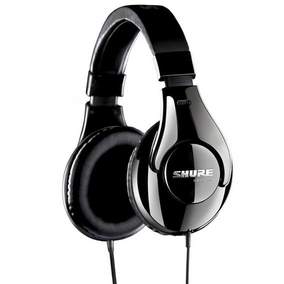 Promoção Fone De Ouvido Shure Headphone Srh240a Profissional