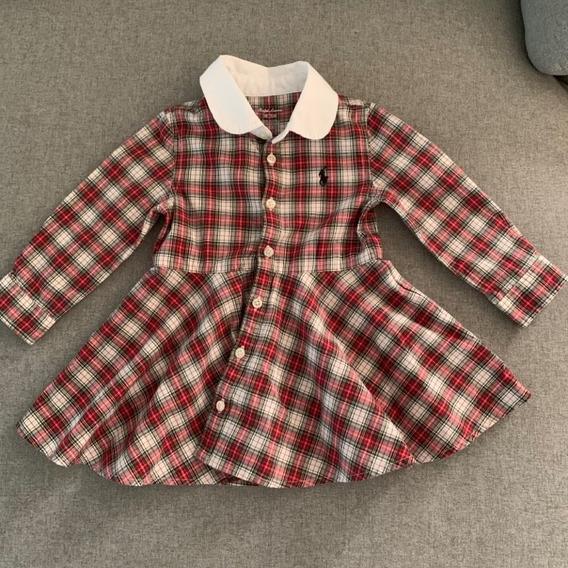 Vestido Polo Ralph Lauren Menina