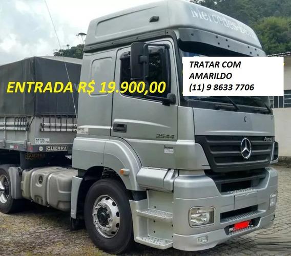 Mb Axor 2544 2012/2012 Com Carreta Ls