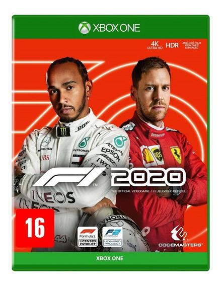 F1 2020 Xbox One Mídia Física Novo Lacrado