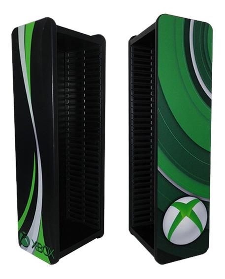 Porta Jogos Ps4 Ps3 Xbox One Blu-ray P/ 30 Jogos