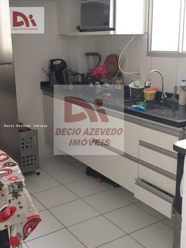 Apartamento Com 2 Dormitórios À Venda, 60 M² Por R$ 174.900,00 - Parque Senhor Do Bonfim - Taubaté/sp - Ap0065