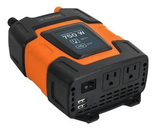 Inversor De Corriente De 750 Watts 75 Amp Truper Nuevo