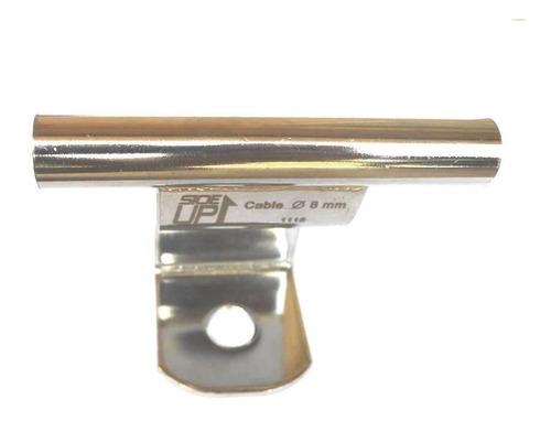 Trilho Para Arvorismo Sideup Em Aço Inox Para Cabo De 8mm