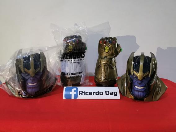 Palomeras Thanos Y Guantelete Avengers End Game Cinemex