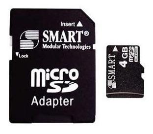 Cartao De Memoria Micro Sd 4gb - Smart