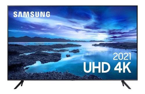 Imagem 1 de 9 de Smart Tv 70  Crystal 4k Samsung Un70au7700gxzd Hdmi Usb