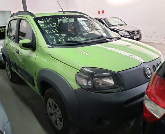 Fiat Uno Way 1.0 Flex 4p 2012 - Verssat Automoveis