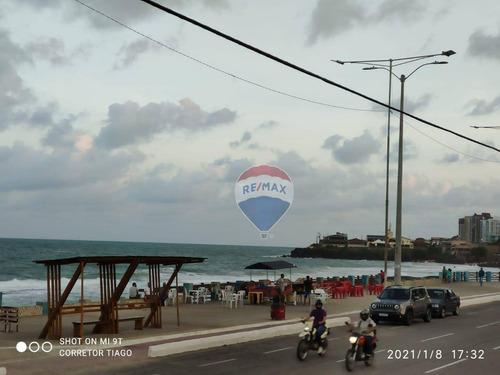 Apartamento Com Vista Para Praia À Venda - 46m² - Praia Do Meio - Natal/rn. - Ap0137