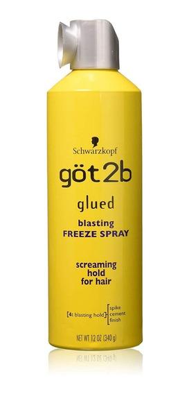 Spray Fixador De Cabelo Got2b Glue Schwarzkopf 340g Original