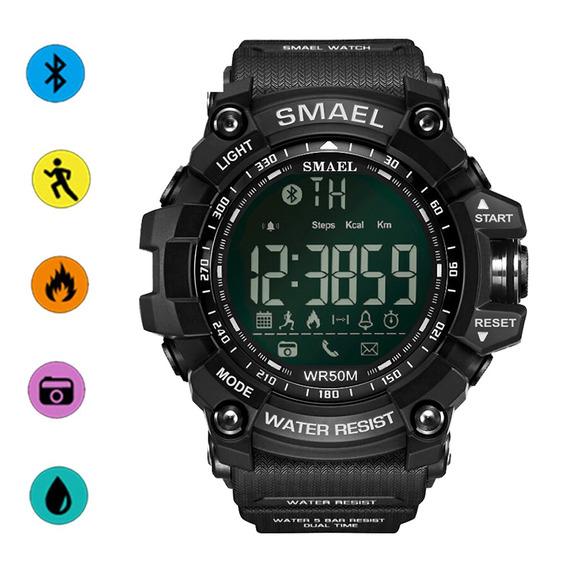 Deportivo Reloj Bluetooth Podómetro Smael Hombre Aptitud