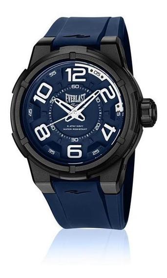Relógio De Pulso Everlast Masculino Caixa Abs E692