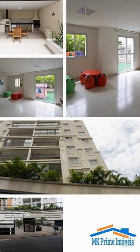 Imagem 1 de 7 de Lindo Apartamento 60m² Com 2 Dormitórios Sendo 1 Suíte No Centro De Osasco! - 2288