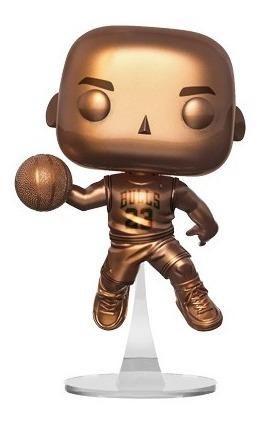 Cardenal Mismo Puñado  Michael Jordan Funko Pop Cobre Chicago Bulls Balon Basket Cf   Mercado Libre