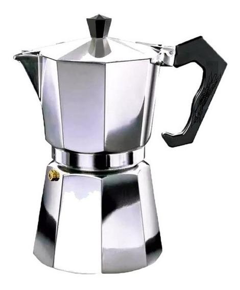 Cafetera Italiana 3 Pocillos Aluminio Oferta Especial Moka