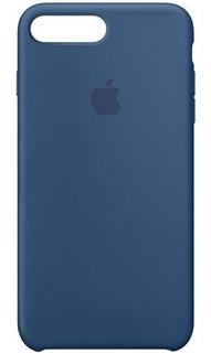 Capa Protetora De Silicone Para iPhone 7 - 4.7 - Azul