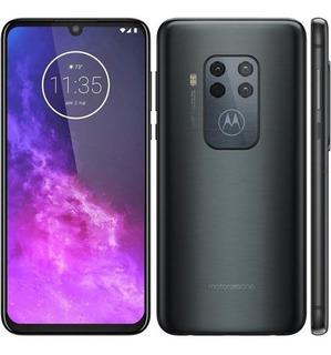 Celular Smartphone Motorola Moto One Zoom 6.4 Xt2010-1 Gris
