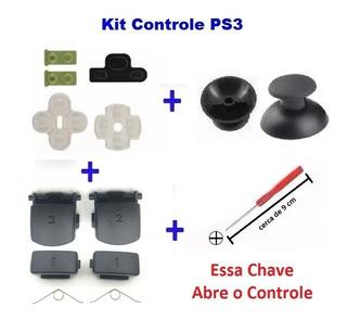 Ps3 - Kit Reparo Controle Ps3 - Tenho Frete Barato R$ 15,00