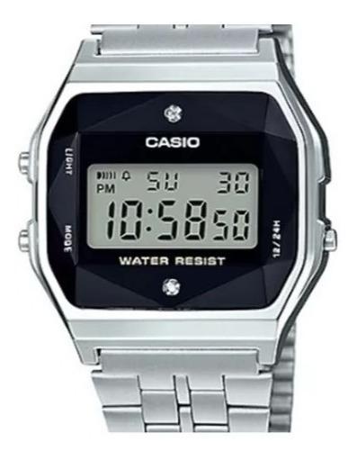 Relógio Unissex Vintage A159wad 1df Digital Diamond