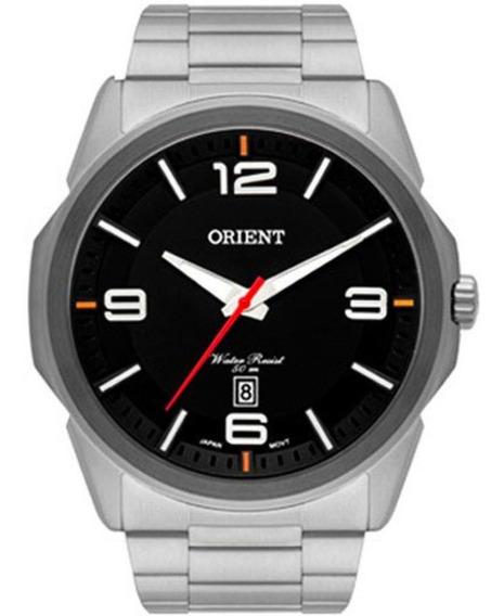 Relógio Orient Masculino Mbss1265 P2sx Aço Analogico Nfe