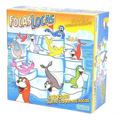 Juego De Mesa Focas Locas Original Ditoys