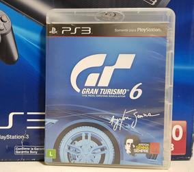 Jogo Gran Turismo 6 Senna Playstation 3 Midia Fisica Ps3