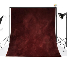 Dark Red(10x10ft) - Pared De Ladrillos Tipo Vinilo 6 Pi-8999