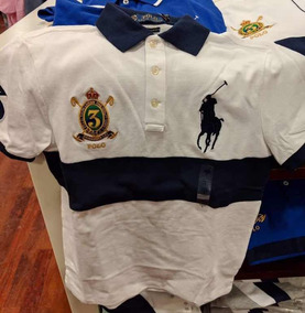 Playera Polo Ralph Lauren Custom Fit 100% Original Caballero